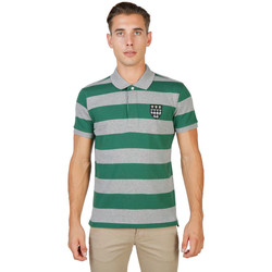 Textil Homem Polos mangas curta Oxford University - magdalen-rugby-mm Verde