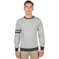 Textil Homem camisolas Oxford University - oxford_tricot-crewneck Cinza