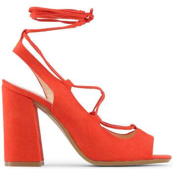 Sapatos Mulher Sandálias Made In Italia - linda Vermelho