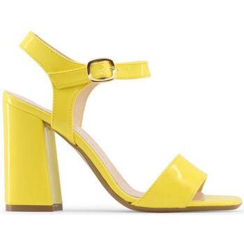 Sapatos Mulher Sandálias Made In Italia - angela Amarelo