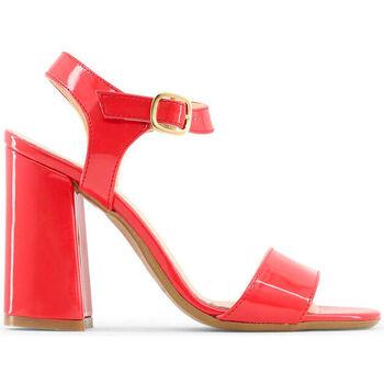 Sapatos Mulher Sandálias Made In Italia - angela Vermelho