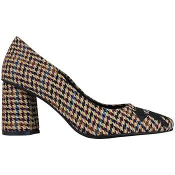 Sapatos Mulher Escarpim Thewhitebrand Stiletto school brown Castanho