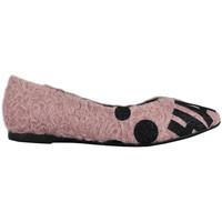 Sapatos Mulher Sapatilhas Thewhitebrand Bailarina tag pink Rosa
