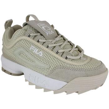 Sapatos Mulher Sapatilhas Fila disruptor mm low wmn antique white Bege