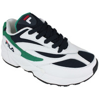 Sapatos Mulher Sapatilhas Fila v94m low wmn white/navy/shady glade Branco
