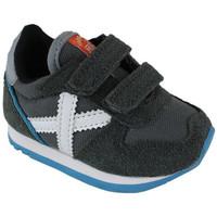 Sapatos Sapatilhas Munich baby massana vco 8820349 Cinza