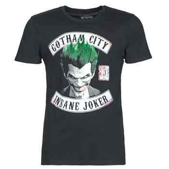 Textil Homem T-Shirt mangas curtas Casual Attitude INSANE JOKER Preto