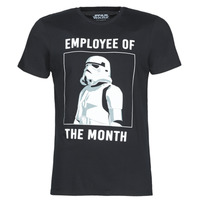 Textil Homem T-Shirt mangas curtas Casual Attitude STORMTROOPER OF THE MONTH Preto