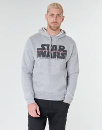 Textil Homem Sweats Casual Attitude Star Wars Bar Code Cinza