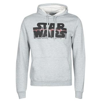 Textil Homem Sweats Yurban Star Wars Bar Code Cinza