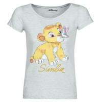 Textil Mulher T-Shirt mangas curtas Moony Mood THE LION KING Cinza