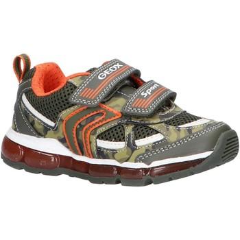 Sapatos Rapaz Multi-desportos Geox J9244C 01454 J ANDROID Verde