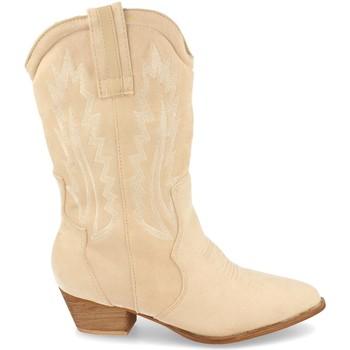 Sapatos Mulher Botas H&d 392 Beige