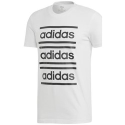 Textil Homem T-Shirt mangas curtas adidas Originals M C90 Brd Tee Branco
