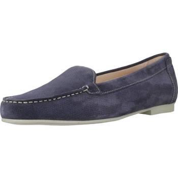 Sapatos Mulher Mocassins Stonefly CAPRI III 2 VELOUR Azul