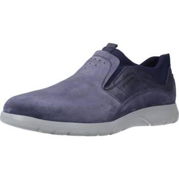 Sapatos Homem Mocassins Stonefly SPACE UP 1 BIS VEL. Azul