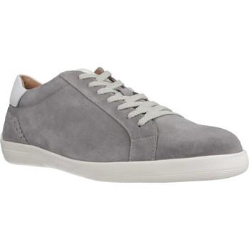 Sapatos Homem Sapatilhas Stonefly OSCAR 3 VELOUR Cinza