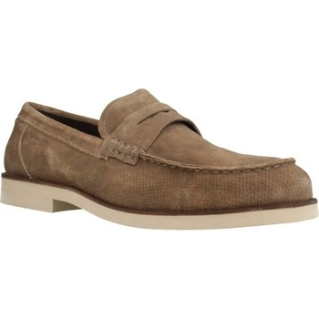 Sapatos Homem Mocassins Stonefly ANDREW 1(5644)VELOUR Marron