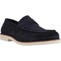 Sapatos Homem Mocassins Stonefly ANDREW 1(5644)VELOUR Azul