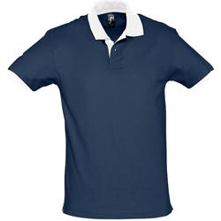 Textil Polos mangas curta Sols PRINCE COLORS Azul