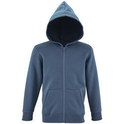 Textil Criança Sweats Sols STONE COLORS KIDS Azul