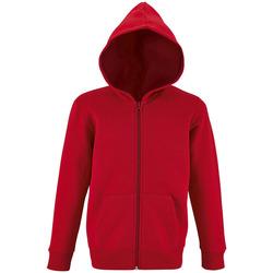 Textil Criança Sweats Sols STONE COLORS KIDS Rojo