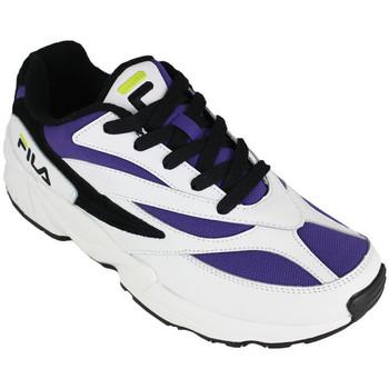 Sapatos Homem Sapatilhas Fila v94m low white/purple Branco