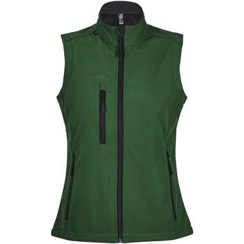 Textil Mulher Corta vento Sols RALLYE SPORT WOMEN Verde