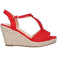 Sapatos Mulher Alpargatas Chika 10 NADIA 10 Rojo