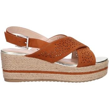 Sapatos Mulher Alpargatas Chika 10 DONA 07 Marrón