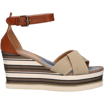 Sapatos Mulher Sandálias Chika 10 NILA 02 Beige