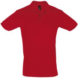 Textil Homem Polos mangas curta Sols PERFECT COLORS MEN Rojo