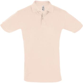 Textil Homem Polos mangas curta Sols PERFECT COLORS MEN Rosa