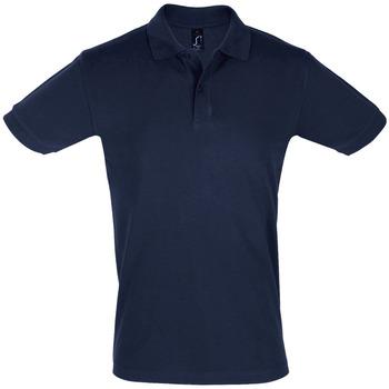 Textil Homem Polos mangas curta Sols PERFECT COLORS MEN Azul