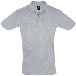 Textil Homem Polos mangas curta Sols PERFECT COLORS MEN Gris
