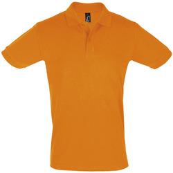 Textil Homem Polos mangas curta Sols PERFECT COLORS MEN Naranja