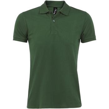 Textil Homem Polos mangas curta Sols PERFECT COLORS MEN Verde