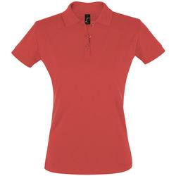 Textil Mulher Polos mangas curta Sols PERFECT COLORS WOMEN Rojo
