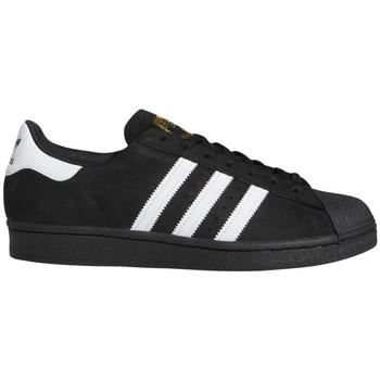 Sapatos Homem Sapatos estilo skate adidas Originals Superstar adv Preto
