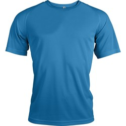 Textil Homem T-Shirt mangas curtas Proact T-Shirt manches courtes  Sport bleu ciel