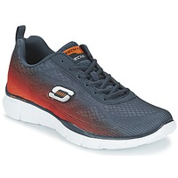 Sapatos Homem Multi-desportos Skechers EQUALIZER Marinho / Laranja