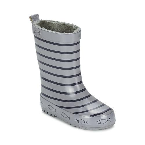 Sapatos Criança Botas de borracha Be Only TIMOUSS Cinza