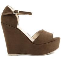 Sapatos Mulher Sandálias Made In Italia - beniamina Castanho