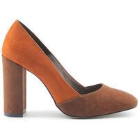Sapatos Mulher Escarpim Made In Italia - giada Castanho