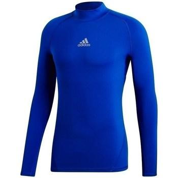 Textil Homem Sweats adidas Originals Alphaskin Climawarm Azul