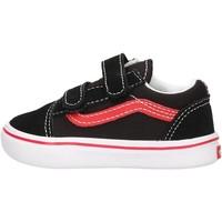 Sapatos Rapaz Sapatilhas Vans - Comfycush old skool nero/rosso VN0A4TZI4HJ1 NERO