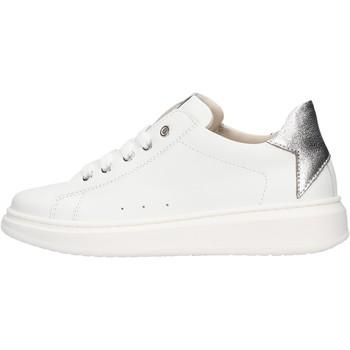 Sapatos Rapaz Sapatilhas Sho.e.b. 76 - Sneaker bianco/arg 1704-R4 BIANCO
