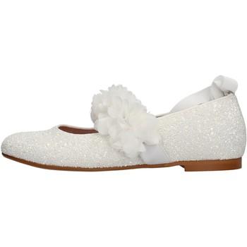 Sapatos Rapariga Sapatilhas Oca Loca - Ballerina bianco 8047-11 BIANCO