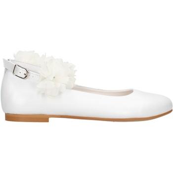 Sapatos Rapariga Sapatilhas Oca Loca - Ballerina bianco 7818-00 BIANCO
