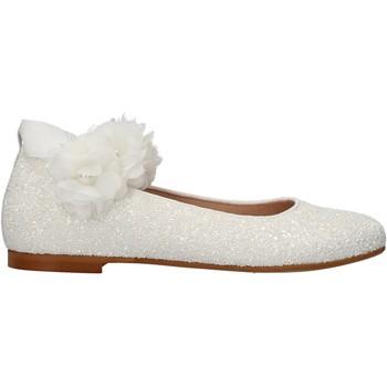 Sapatos Rapariga Sapatilhas Oca Loca - Ballerina bianco 7817-11 BIANCO